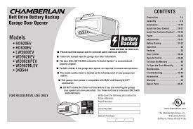 chamberlain hd930ev user manual manualzz