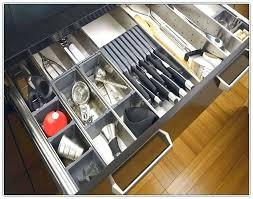 large utensil drawer organizer diy adjustable kitchen home design ideas