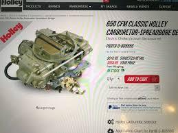 Carburetor Lpg Holley 0 80555c