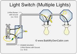 light switch wiring diagram multiple lights how to wire two separate switches & lights using the same power source at Wiring A Switch