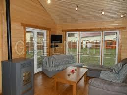 salon maison en bois louisa 140m2