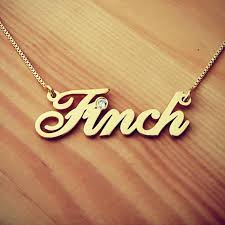 parity gold name necklace for men up