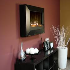 wall mount fireplaces wall mount gel fireplace