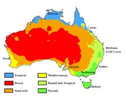 Climate Map of Australia