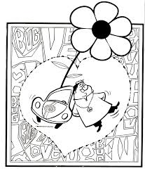 toon2 love bug coloring pages coloring pages on love bug printable