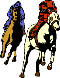 horse racing clipart.  Racing Horse Racing Clip Art  Clipart Library Inside Library