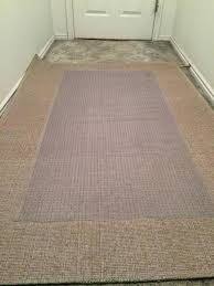 how to keep a rug on carpet from moving next place the vinyl runner upside down how to keep a rug