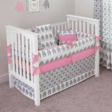 gray and pink crib bedding sets bed frame katalog 9e40f7951cfc with regard to brilliant household pink and grey crib bedding set decor