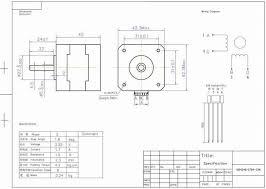 nema 17 stepper motor wiring solidfonts nema 17 stepper motors w precut wires and connectors lulzbot