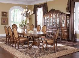 SALE  Lavelle Melange  PC Oval Pedestal Dining Set By - Formal oval dining room sets
