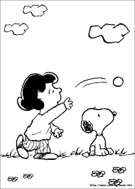 Small Picture Snoopy coloring pages on Coloring Bookinfo