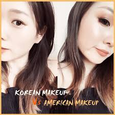 guys here is a big match which one you want to vote korean makeup or american makeup try answer below the ments clozetteid