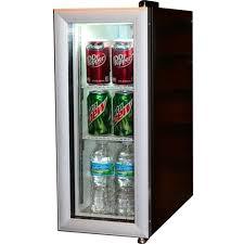 glass front mini fridge. Beautiful Fridge White And Black Glass Door Mini Fridge With Glass Front Mini Fridge O