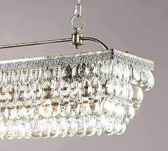 clarissa crystal drop rectangular chandelier small round petite scroll to next item table lamp
