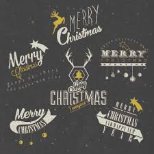 Merry Christmas Logos Free Vector Download 74 947 Free