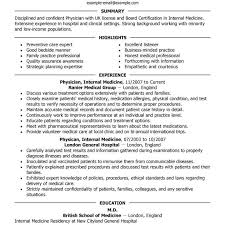 doctor cv sample transform physician assistant resumes examples with additional md