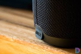 jbl link 300. on top of the device, jbl link 20 offers playback controls, a bluetooth toggle, and an assistant button for conjuring up power google. jbl 300 7