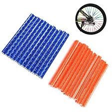 Bike <b>bicycle wheel</b> spoke reflectors Reflective safe Mountain Road ...