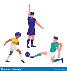 Referee Design Soccer Referee Design Stock Vector Illustration Of Players