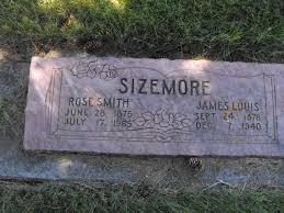 James Louis Sizemore (1878-1940) - Find A Grave Memorial
