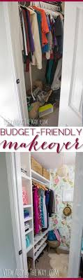 make over your closet on a budget check out the inspirational