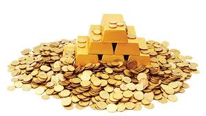 Image result for bullion gold and coin drawing