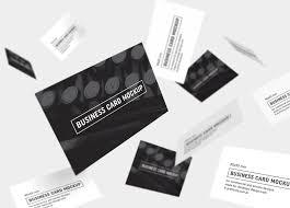Cheap Spot Uv Business Cards Business Card Mockup Psd