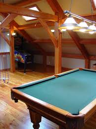 Wooden Games Room Not so sure about the colors like the seating Attic Ideas 79