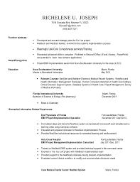informatics resumes