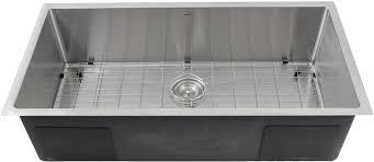 Nantucket Sinks Sr361816 36 Inch Undermount Single Bowl Kitchen Sink