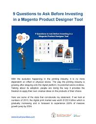 Magento Designer Tool 9 Questions To Ask Before Investing In A Magento Product