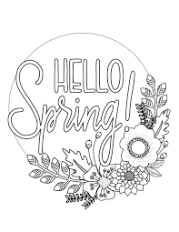 Printable Spring Coloring Page1 over the big moon printable spring coloring page over the big moon on printable form maker