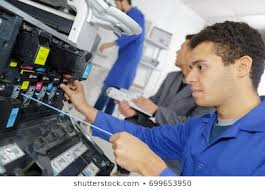 Printer Technician Printer Technician Stock Photos Images Photography