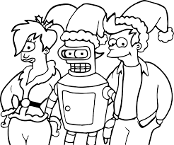 Small Picture Anime Robot One Eye Girl And Boy Coloring Page Wecoloringpage