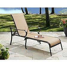 Amazon This Set of 2 Patio Lounge Chairs Made of Stain