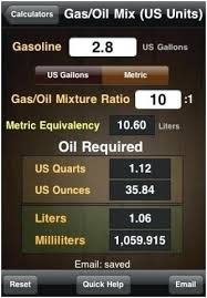Gas Oil Mixture Chart Metric 2 Stroke Oil Mix Chart Inspirational Mixing 2 Cycle Oil With