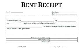 rental receipt pdf receipts for rent home rental receipts sample rent receipts format