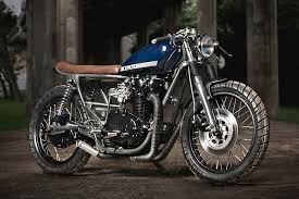 cafÉ racer 76 yamaha xs650 kick moto