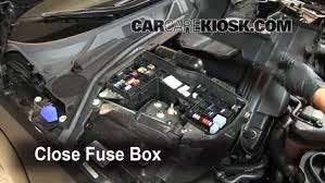 blown fuse check 2009 2015 jaguar xf 2009 jaguar xf luxury 4 2l v8 6 replace cover secure the cover and test component