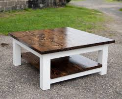 large square outdoor coffee table