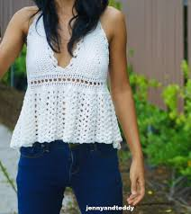 Free Crochet Top Patterns Amazing Design