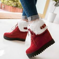 <b>sarairis brand new</b> hot sale big size 52 women snow Boots Shoes ...