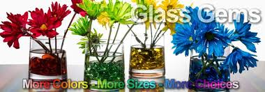 decorative glass gems