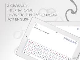 Interface for entering/typing ipa characters/symbols/glyphs/letters and diacritics. Ipa Phonetic Keyboards On The App Store