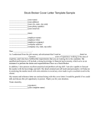 Good Insurance Broker Cover Letter Sample Recentresumes Com
