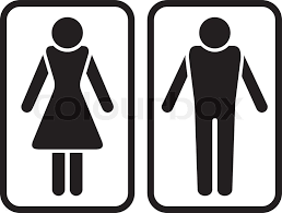 Male Female Bathroom Symbols Simple Design Inspiration