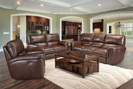 Reclining Living Room Set House Hitchcock Power Recliner Living Room Set In Cigar