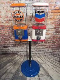 Gulf Vending Machines Delectable Gumball Machine Candy Machine Vintage Acorn Machine Glass Globe