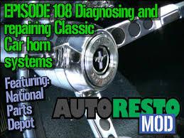 episode 108 diagnosing and repairing classic car horn system 68 Mustang Horn Wiring episode 108 diagnosing and repairing classic car horn system autorestomod youtube 68 mustang horn wiring diagram