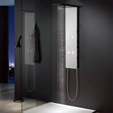 Aluminium Duschpaneel Komplettdusche Duschsäule Weiß Schwarz